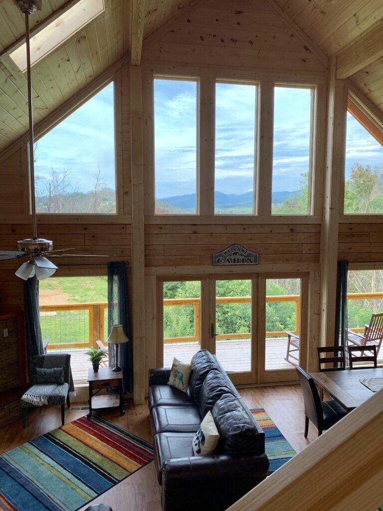 Beautiful Log Home in the Smokies.